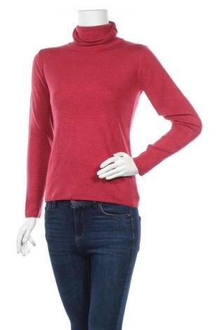 Дамски пуловер Casual By Gemo, Размер S, Цвят Червен, Акрил, Цена 21,42лв.