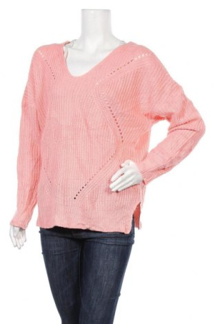 Γυναικείο πουλόβερ Charlotte Russe, Μέγεθος XL, Χρώμα Ρόζ , Ακρυλικό, Τιμή 16,05€