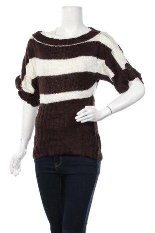 Γυναικείο πουλόβερ Charlotte Russe, Μέγεθος L, Χρώμα Καφέ, 75%ακρυλικό, 25% μαλλί, Τιμή 14,19€