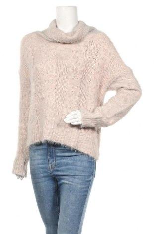 Γυναικείο πουλόβερ Charlotte Russe, Μέγεθος L, Χρώμα Ρόζ , Πολυεστέρας, Τιμή 12,67€