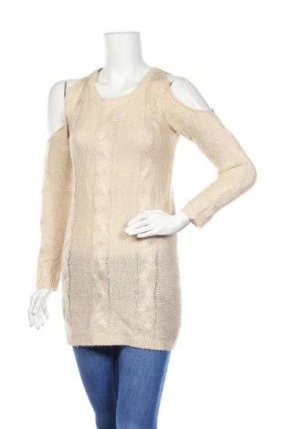 Γυναικείο πουλόβερ Charlotte Russe, Μέγεθος XS, Χρώμα  Μπέζ, Ακρυλικό, Τιμή 17,54€
