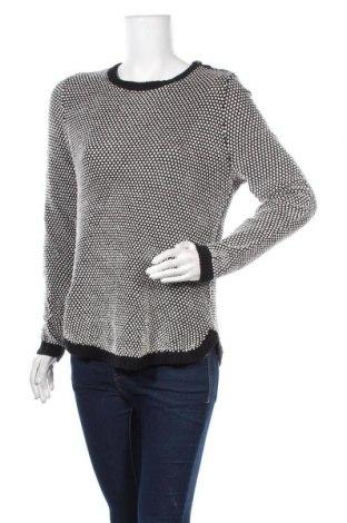 Дамски пуловер Charter Club, Размер L, Цвят Черен, 56% памук, 37% акрил, 4% метални нишки, Цена 11,76лв.