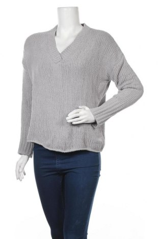 Дамски пуловер Chicoree, Размер S, Цвят Сив, 100% полиестер, Цена 20,79лв.