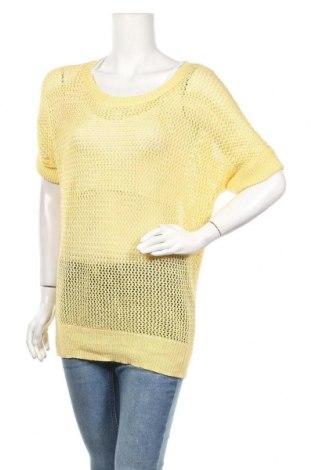 Дамски пуловер Chico's, Размер M, Цвят Жълт, 73% акрил, 27% полиестер, Цена 11,81лв.