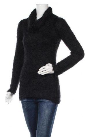 Дамски пуловер Clara Vitti, Размер M, Цвят Черен, 62% акрил, 38% полиамид, Цена 15,12лв.