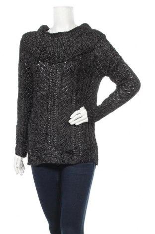 Дамски пуловер Cleo, Размер M, Цвят Черен, 60% акрил, 40% полиестер, Цена 6,83лв.