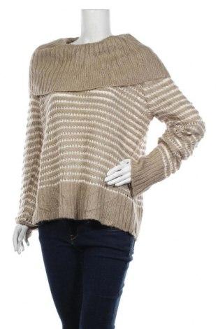 Γυναικείο πουλόβερ DKNY Jeans, Μέγεθος XL, Χρώμα  Μπέζ, 64%ακρυλικό, 30% πολυαμίδη, 6% μοχαίρ, Τιμή 20,92€