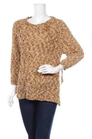 Дамски пуловер Deane & White, Размер L, Цвят Бежов, 51% полиестер, 32% акрил, 17% полиамид, Цена 25,20лв.