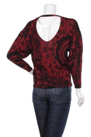Дамски пуловер Desigual, Размер XS, Цвят Червен, 80% вискоза, 20% полиамид, Цена 25,02лв.