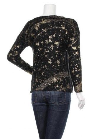 Дамски пуловер Desigual, Размер XS, Цвят Черен, 59% акрил, 41% полиестер, Цена 20,85лв.