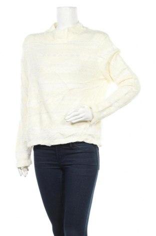 Γυναικείο πουλόβερ East West, Μέγεθος L, Χρώμα Εκρού, 75%ακρυλικό, 18% πολυαμίδη, 7% βισκόζη, Τιμή 15,43€