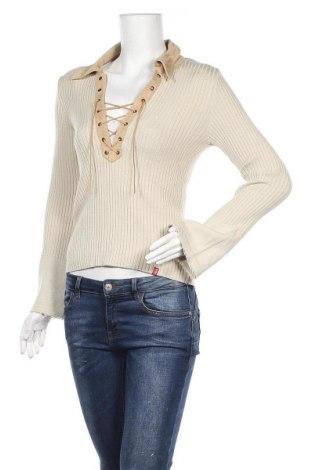 Γυναικείο πουλόβερ Edc By Esprit, Μέγεθος M, Χρώμα  Μπέζ, 45% βισκόζη, 45%ακρυλικό, 10% πολυεστέρας, Τιμή 14,81€