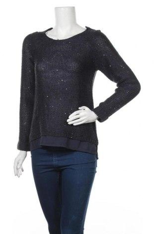 Дамски пуловер Esmara, Размер S, Цвят Син, 65% полиакрил, 35% полиамид, Цена 8,82лв.