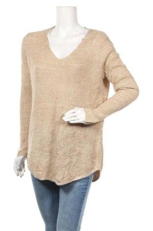 Дамски пуловер Faded Glory, Размер M, Цвят Бежов, 100% акрил, Цена 15,59лв.