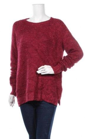 Дамски пуловер Faded Glory, Размер L, Цвят Червен, Цена 27,30лв.