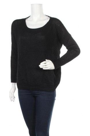 Дамски пуловер Fb Sister, Размер S, Цвят Черен, 62% полиамид, 22% вискоза, 16% ангора, Цена 6,30лв.