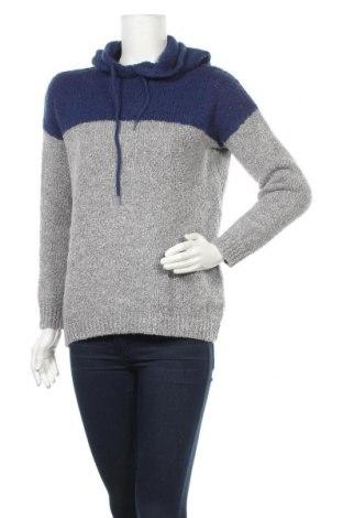 Дамски пуловер Fb Sister, Размер L, Цвят Сив, 57% полиакрил, 25% полиамид, 18% вълна, Цена 24,26лв.