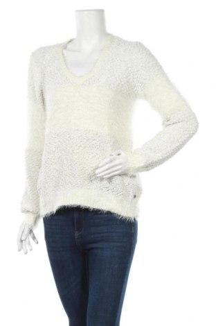 Дамски пуловер Free Quent, Размер S, Цвят Бял, 58% полиестер, 42% акрил, Цена 6,64лв.