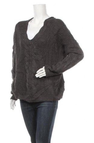 Дамски пуловер George, Размер XL, Цвят Сив, 78% акрил, 22% полиамид, Цена 10,92лв.