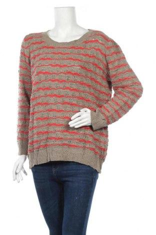 Дамски пуловер Gina Benotti, Размер L, Цвят Кафяв, 50% памук, 50% полиакрил, Цена 15,02лв.