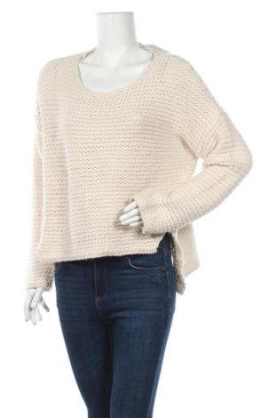 Дамски пуловер Gina Tricot, Размер M, Цвят Бежов, 85% акрил, 15% вълна, Цена 8,19лв.