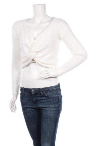 Γυναικείο πουλόβερ Glamorous, Μέγεθος XXS, Χρώμα Λευκό, 51%ακρυλικό, 49% πολυαμίδη, Τιμή 18,19€