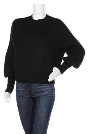 Дамски пуловер H&M, Размер S, Цвят Черен, Цена 15,23лв.