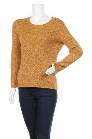 Дамски пуловер H&M, Размер M, Цвят Жълт, 60% памук, 40% вискоза, Цена 25,20лв.