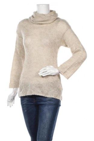 Γυναικείο πουλόβερ H&M, Μέγεθος XS, Χρώμα  Μπέζ, 90%ακρυλικό, 10% μοχαίρ, Τιμή 17,28€
