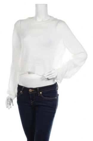 Дамски пуловер H&M Divided, Размер M, Цвят Бял, Цена 21,74лв.