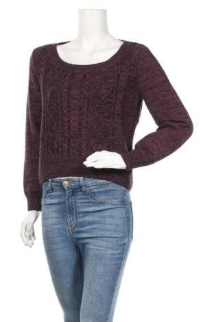 Дамски пуловер H&M Divided, Размер M, Цвят Лилав, 68% памук, 32% акрил, Цена 5,78лв.