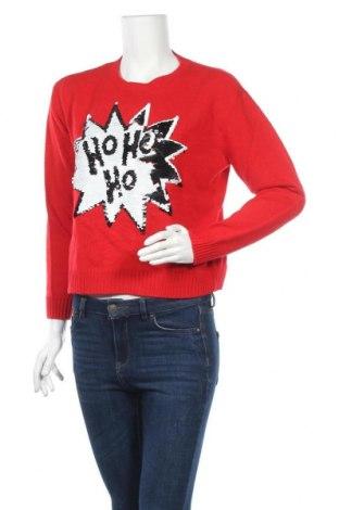 Γυναικείο πουλόβερ H&M Divided, Μέγεθος S, Χρώμα Κόκκινο, Ακρυλικό, Τιμή 5,91€