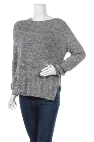 Дамски пуловер H&M Divided, Размер S, Цвят Сив, 60% памук, 40% полиестер, Цена 23,10лв.