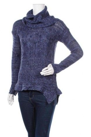 Дамски пуловер INC International Concepts, Размер L, Цвят Син, Акрил, Цена 9,78лв.