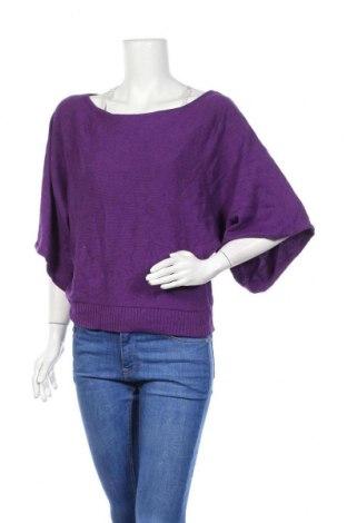 Γυναικείο πουλόβερ INC International Concepts, Μέγεθος XL, Χρώμα Βιολετί, 57% μετάξι, 31% πολυαμίδη, 12% ανγκορά, Τιμή 14,55€
