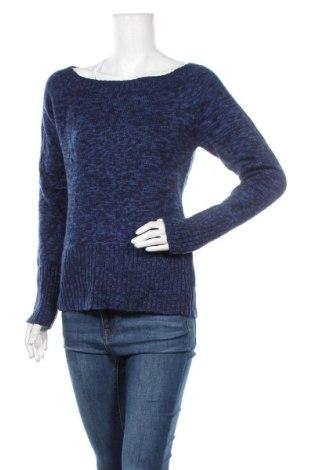 Дамски пуловер Inside, Размер L, Цвят Син, Акрил, Цена 14,49лв.