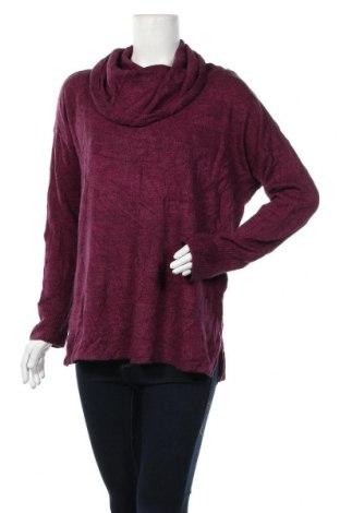 Дамски пуловер Jaclyn Smith, Размер L, Цвят Лилав, Акрил, Цена 22,94лв.
