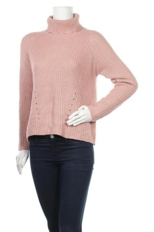 Дамски пуловер Jacqueline De Yong, Размер S, Цвят Розов, Цена 26,25лв.