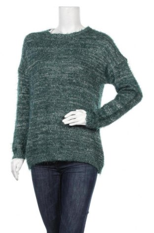 Дамски пуловер Janina, Размер XL, Цвят Син, 52% полиамид, 45% полиакрил, 3% метални нишки, Цена 15,59лв.