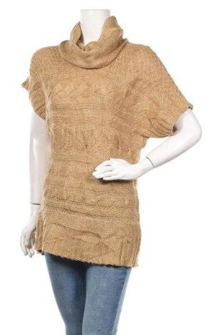 Дамски пуловер Jessica, Размер M, Цвят Бежов, Акрил, Цена 20,95лв.