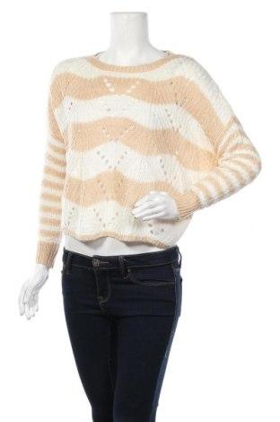 Γυναικείο πουλόβερ Jessica Simpson, Μέγεθος XS, Χρώμα  Μπέζ, Ακρυλικό, Τιμή 7,02€