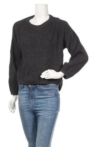 Дамски пуловер Joe Fresh, Размер L, Цвят Сив, 60% памук, 40% акрил, Цена 6,04лв.