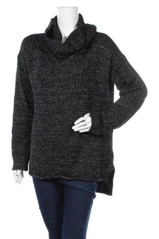 Дамски пуловер Joe Fresh, Размер L, Цвят Черен, 98% акрил, 2% метални нишки, Цена 8,82лв.