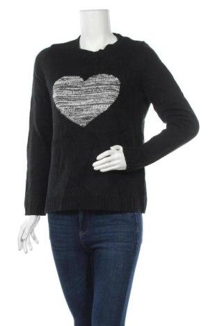 Дамски пуловер Joe Fresh, Размер M, Цвят Черен, Акрил, Цена 7,09лв.