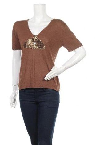 Γυναικείο πουλόβερ Jones, Μέγεθος L, Χρώμα Καφέ, 80% βισκόζη, 20% πολυαμίδη, Τιμή 8,18€