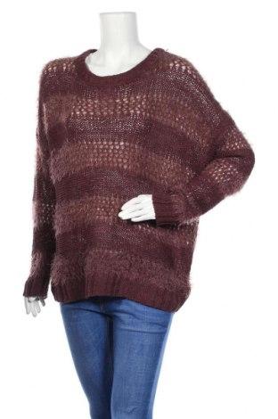 Дамски пуловер Junarose, Размер M, Цвят Червен, 35% акрил, 35% полиестер, 30% полиамид, Цена 6,30лв.