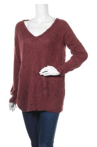 Дамски пуловер Justfab, Размер M, Цвят Лилав, 80% акрил, 20% полиамид, Цена 7,09лв.
