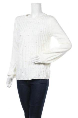 Дамски пуловер Karl Lagerfeld, Размер M, Цвят Бял, Акрил, Цена 222,60лв.
