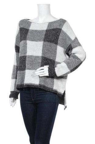 Дамски пуловер Kei-Bix-Kei, Размер M, Цвят Черен, 65% акрил, 20% полиестер, 15% вискоза, Цена 23,94лв.