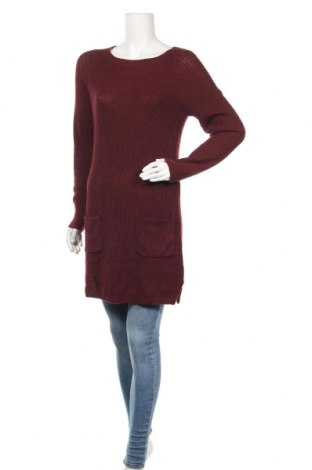 Дамски пуловер Kiabi, Размер S, Цвят Червен, Цена 16,17лв.
